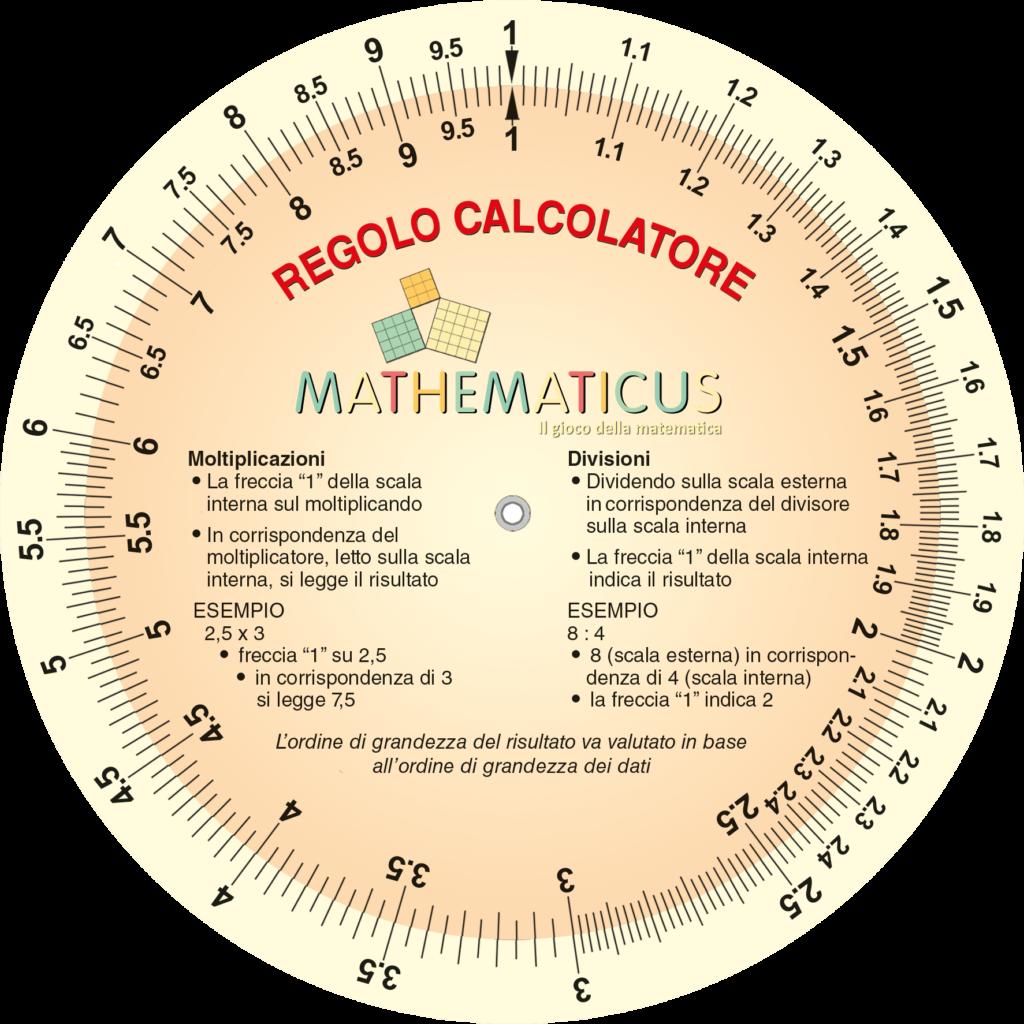 Mathematicus - Regolo calcolatore