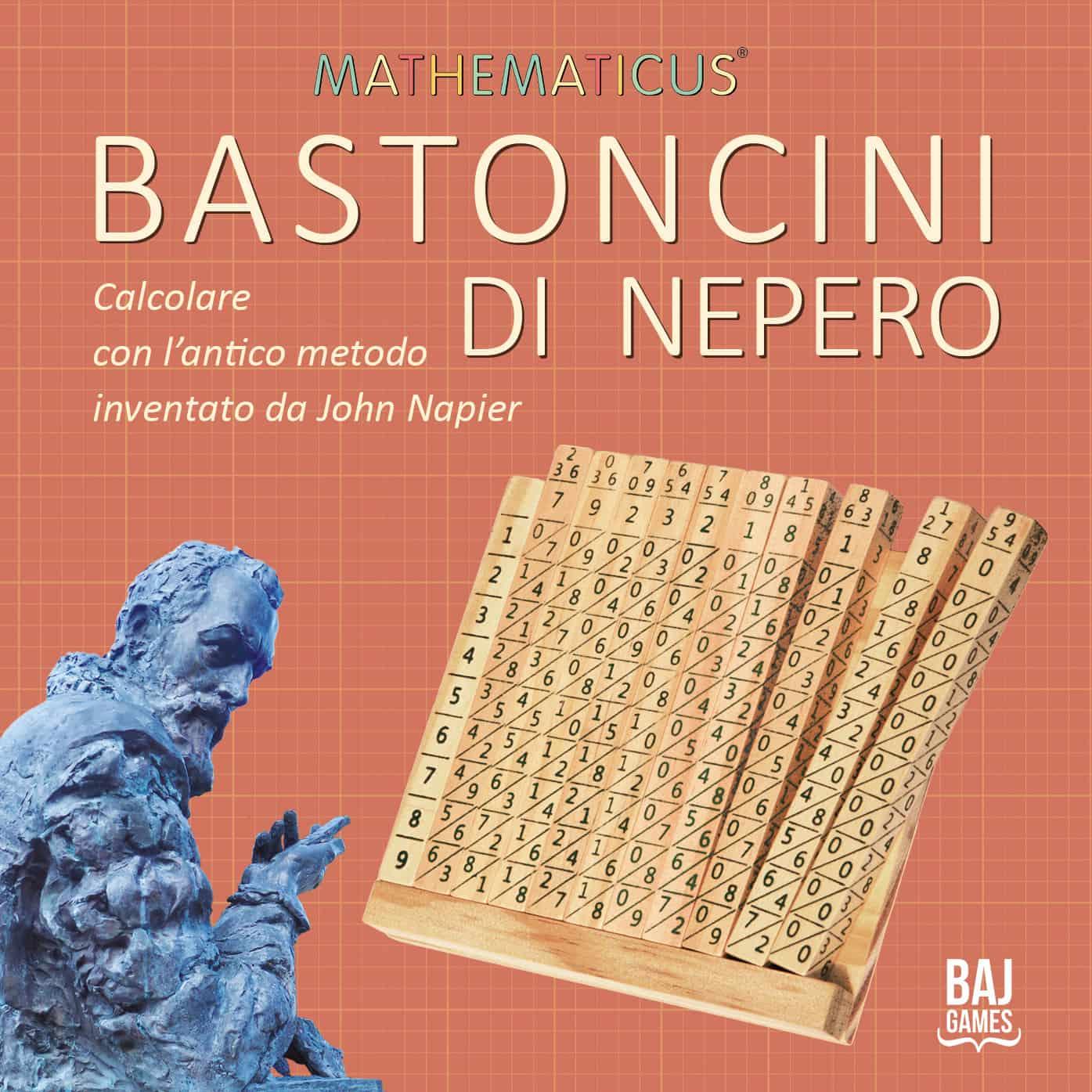 Bastoncini di Nepero - Calcolare con l'Antico Metodo di John Napier