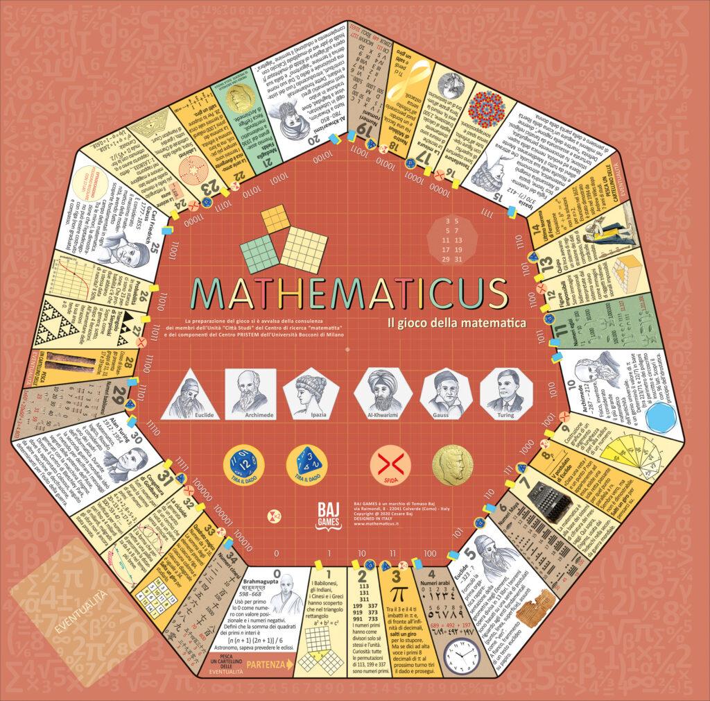 Tavola da gioco - Mathematicus