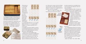 Pagine interne del libretto di istruzioni dei Bastoncini di Nepero